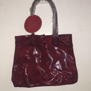 Brand new red Elizabeth Arden purse